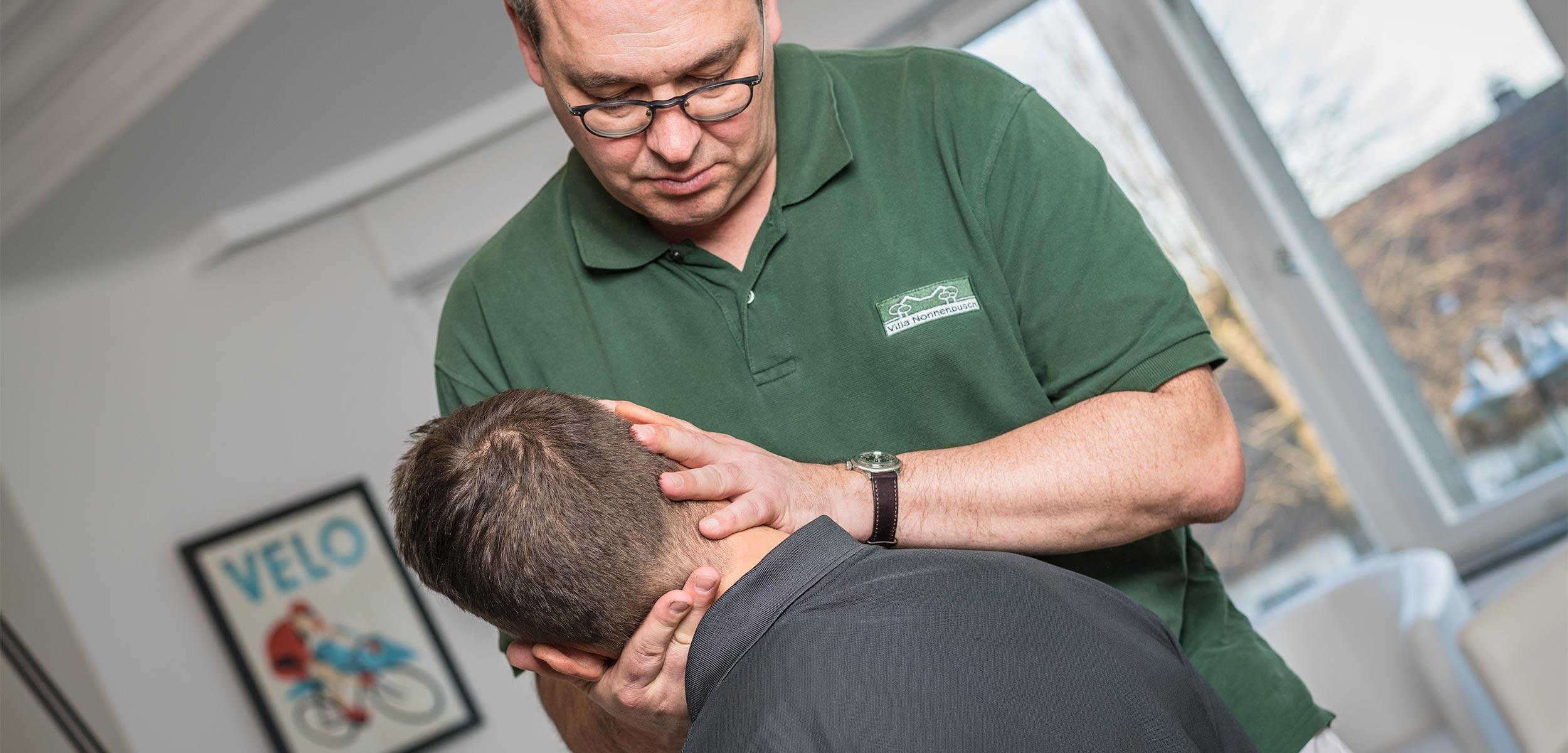 Chirotherapie bei Blockaden im Rücken oder Nacken