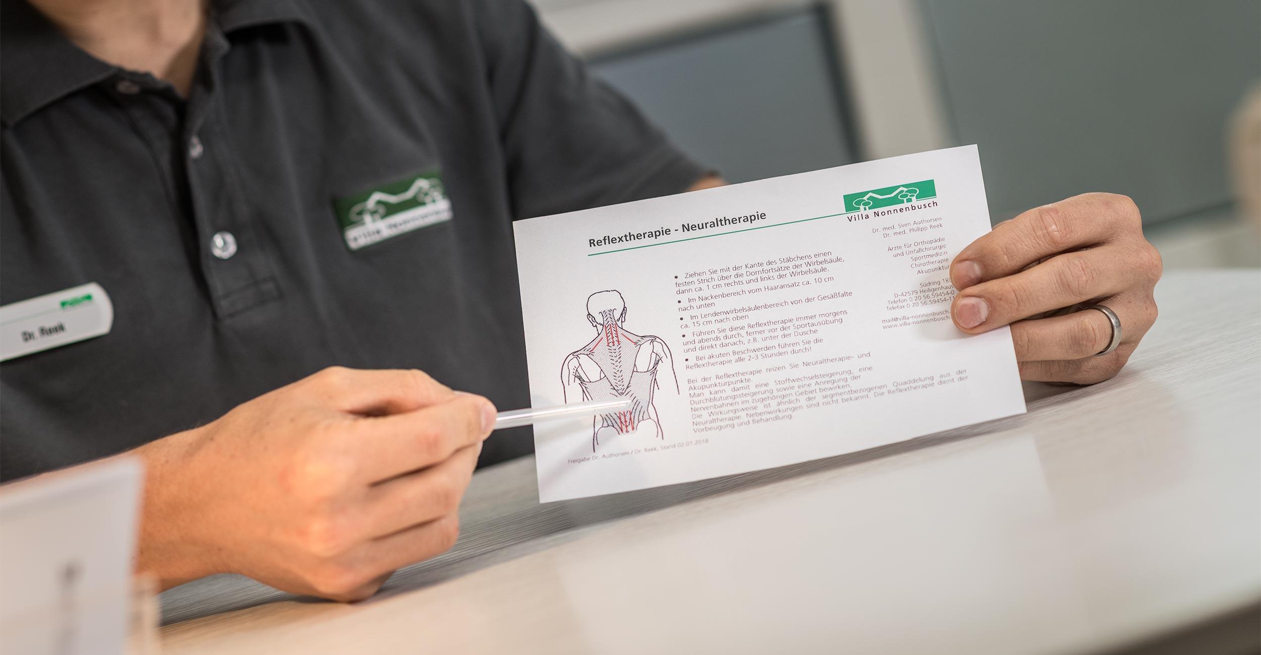 Neuraltherapie in Heiligenhaus und Mettmann